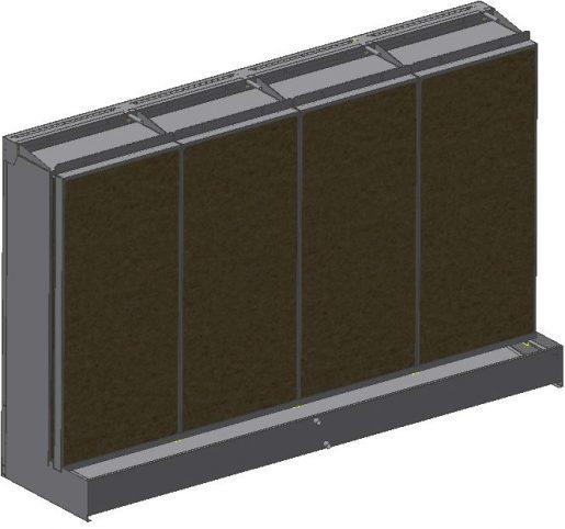 AEM evaporative humidifier